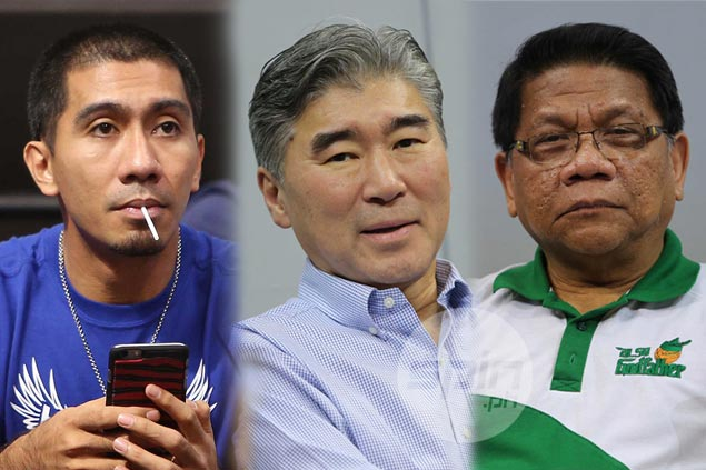 Athletes, celebrities, dignitaries spotted in sea of blue and green at MOA Arena