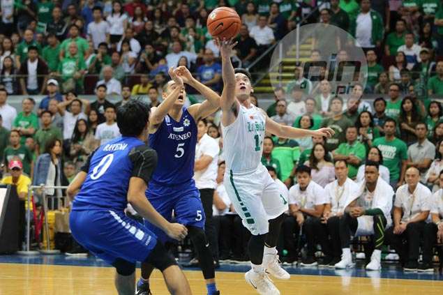 Aljun Melecio justifies Rookie of Year award with clutch showing for La Salle