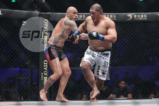 Brandon Vera stops Japanese foe in first round to retain ONE heavyweight title
