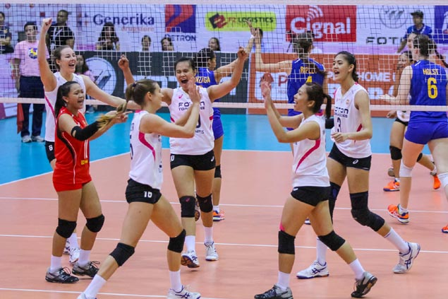 Foton fights back from two sets down to frustrate RC Cola Army, reach PSL finals