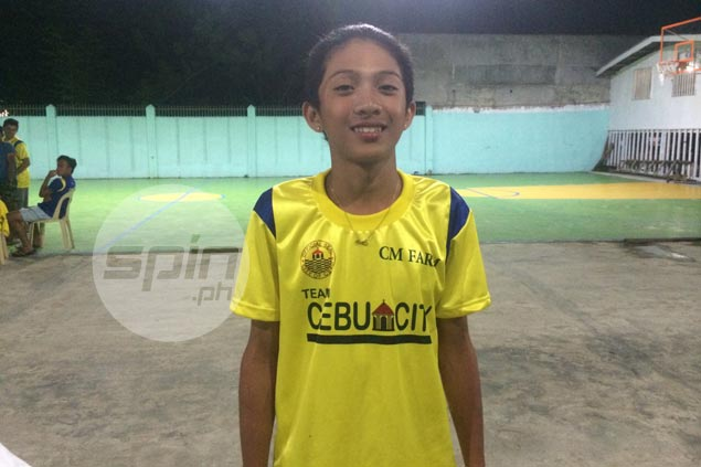 Batang Pinoy tennis medalist Francis Hidalgo wishes he can go back to school