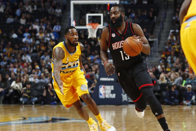 Weary Rockets prove strong enough to deal blowout loss to Nuggets