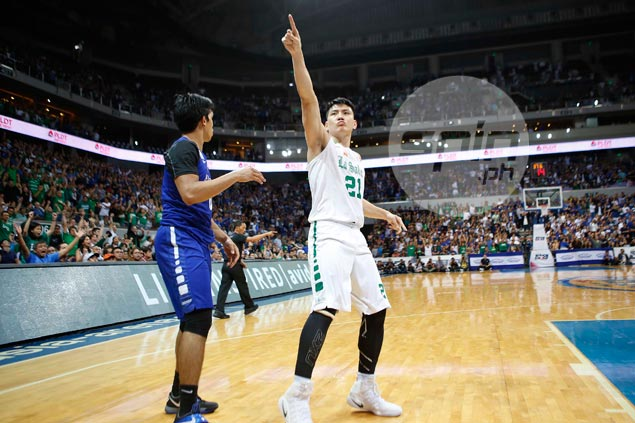 Fired-up Jeron Teng wants Game Two to be his last as a La Salle player