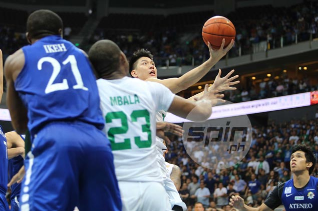 Jeron Teng makes two big plays on both ends, leads La Salle past Ateneo in Game One
