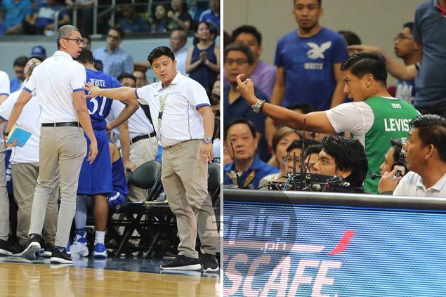 Ateneo team manager laments Leviste act, says 'aggressors' should be ejected from venue
