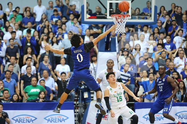 If he could take back last play, Ravena says he would pass ball to 'hot' Nieto
