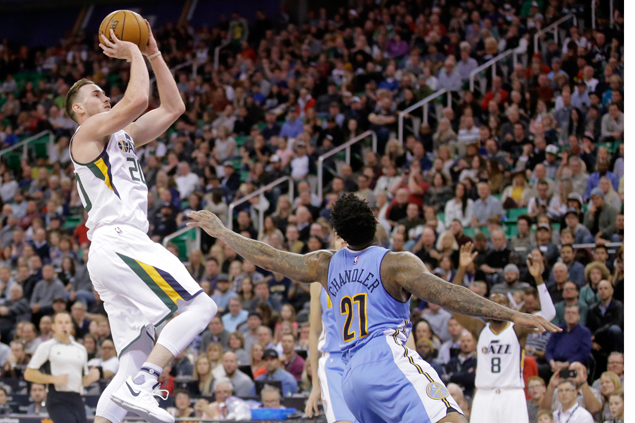 Jazz take control in third and survive late Nuggets rally
