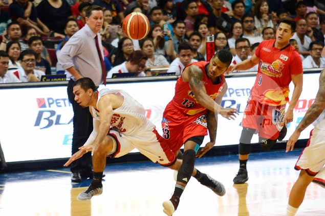 Misfiring LA Tenorio makes up with tough defensive stand for Ginebra in endgame