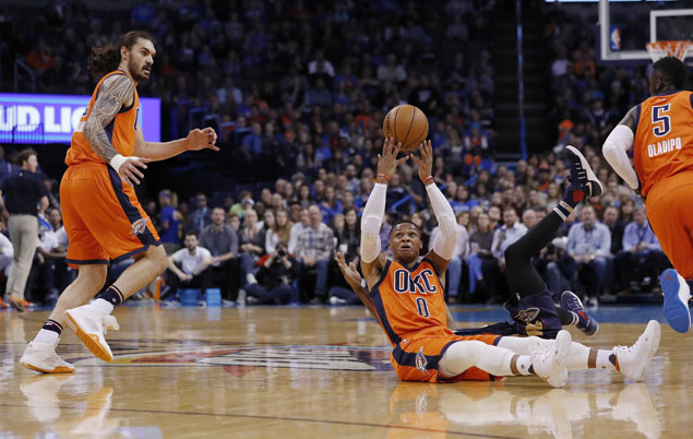 Another Russell Westbrook triple-double, another win for Thunder as they beat Pelicans