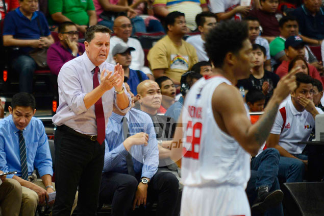 Tim Cone shrugs off late-game spat with Tenorio: 'I'm always hard on LA'
