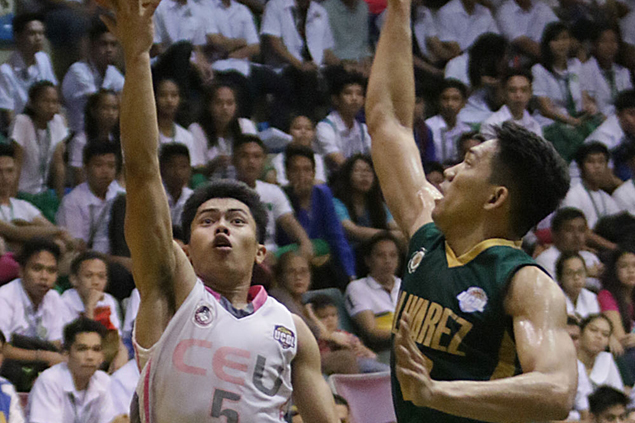 CEU Scorpions rout Olivarez Sea Lions to close in on UCBL crown