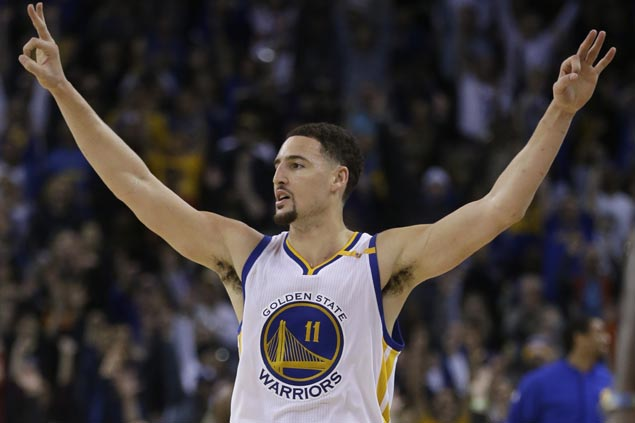 Klay Thompson scores career-high 60 points in 29 minutes in Warriors rout of Pacers