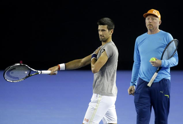 Novak Djokovic parts ways with coach Boris Becker after three seasons and six major titles