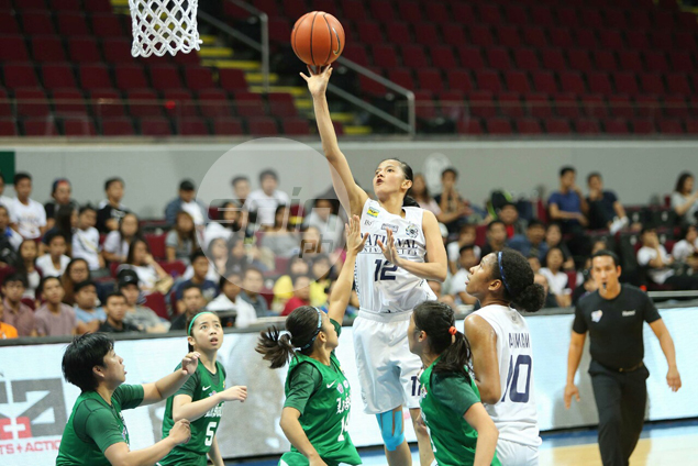 NU officials working to get UAAP MVP Afril Bernardino a tryout with WNBA teams