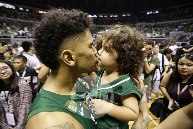 Julian Sargent grateful to Ayo for convincing him to stay for final year with La Salle