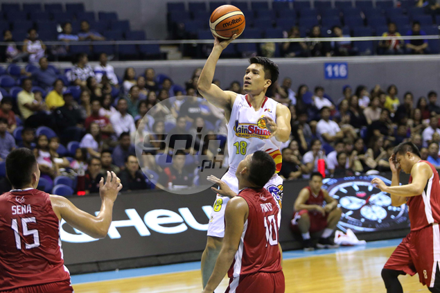 James Yap lets everyone at RoS know that game vs Star 'a big deal' for him