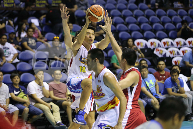 James Yap continues to wax hot as Rain or Shine grounds Blackwater