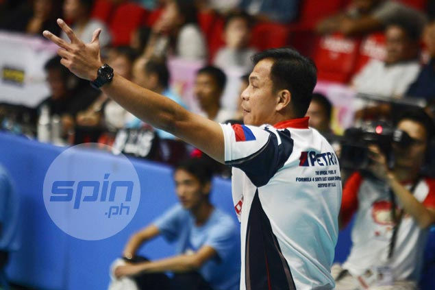 Petron coach says unsuccessful challenge on call 'changed complexion' of Game One