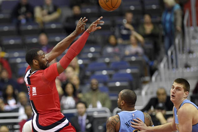 John Wall takes over late as Wizards buck slow start to turn back skidding Nuggets
