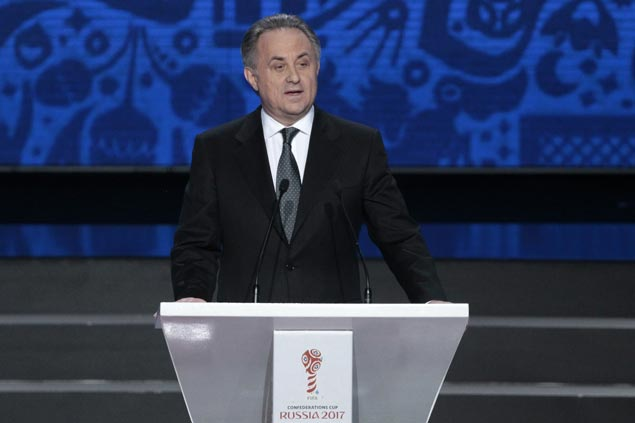 Under fire for role in Russia's state doping program, Vitaly Mutko seeks to retain Fifa Council seat