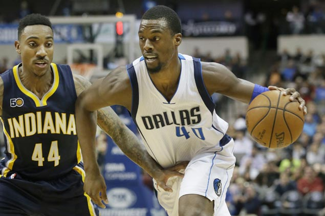 Harrison Barnes, Wes Matthews catch fire in the third as Mavs pull away late over Pacers