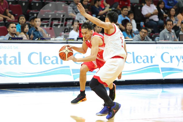 Cyrus Baguio vows to be more aggressive on offense after being missing link in blowout loss to Star