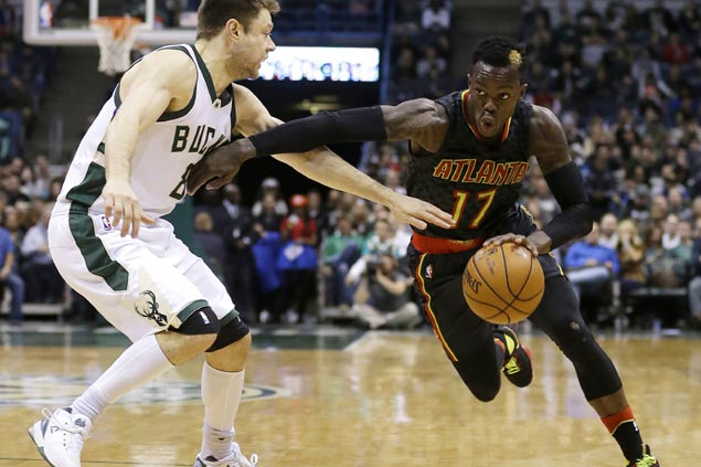 Dennis Schroder drops career-high 33 as Hawks rally from 20 points down to stun Bucks