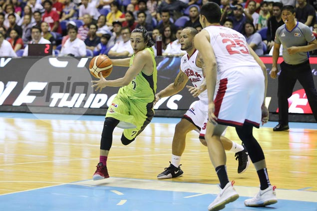 GlobalPort's fearless star Terrence Romeo proves a thorn in side of Ginebra