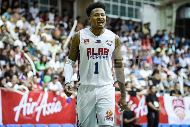 'Bobby Parks' kid' reintroduces self to Paranaque folks in record-setting ABL night