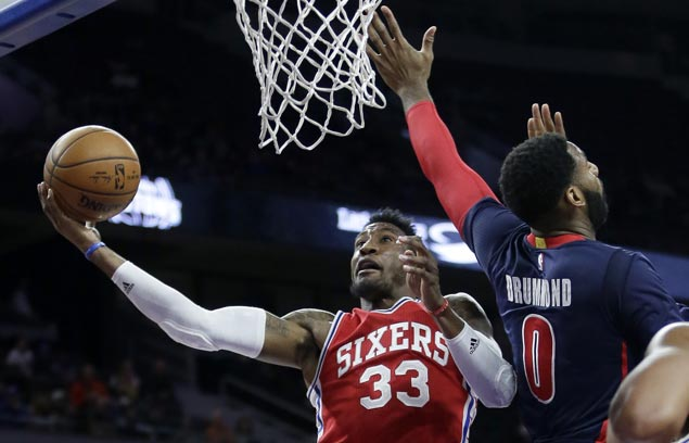 Sixers ride strong first quarter to victory over Pistons