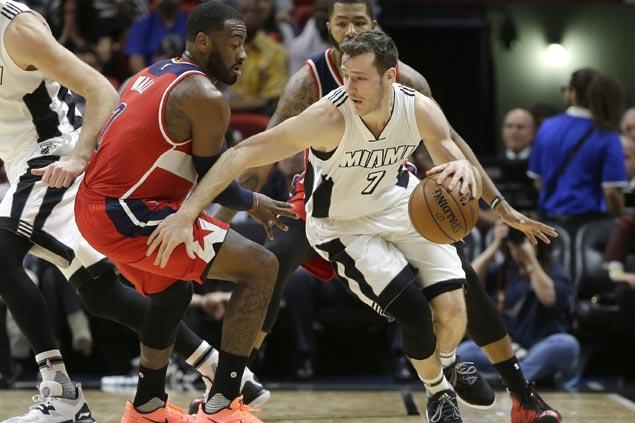 Heat arrest five-game slide, beat Wizards behind Goran Dragic's season-high 34 points
