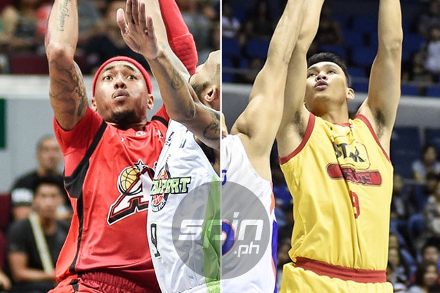 Calvin Abueva lets bygones be bygones as he teams up with college rival Jake Pascual at Alaska