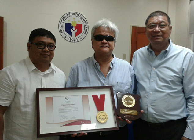 Butch Ramirez lauds Mike Barredo for award from Asian Paralympic Committee