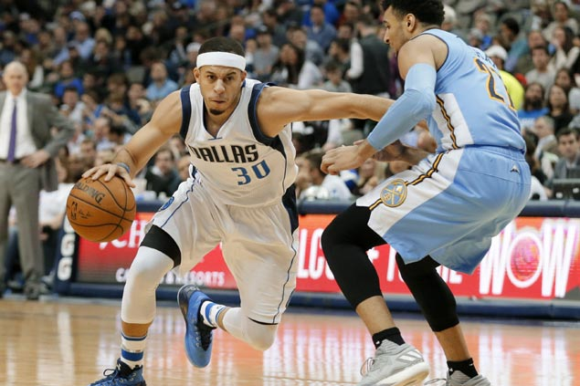 Six Mavs score in double figures as Dallas nabs rare blowout win over Denver