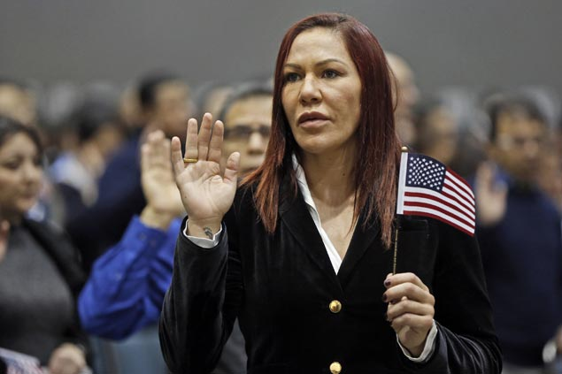 Brazilian UFC fighter Cyborg Justino now a US citizen