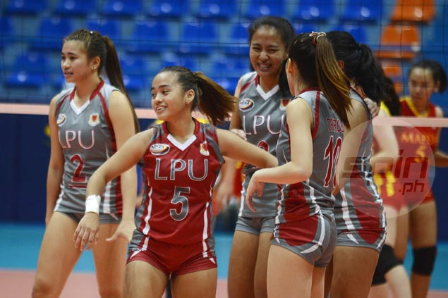 Lyceum downs winless Mapua in straight sets to gain share of third spot in NCAA women's volley