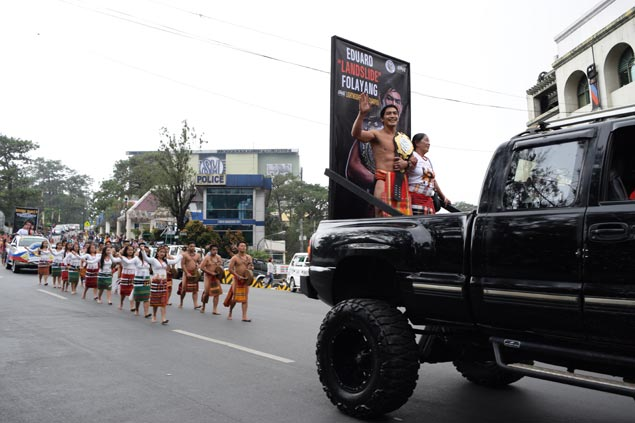 ONE lightweight king Folayang, world wushu champ Wally given heroes welcome in Baguio