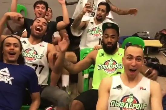 GlobalPort players not only playing well but also enjoying the ride. Watch video