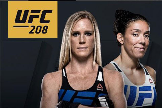 Holly Holm takes on Germaine de Randamie in UFC 208 for women's featherweight title