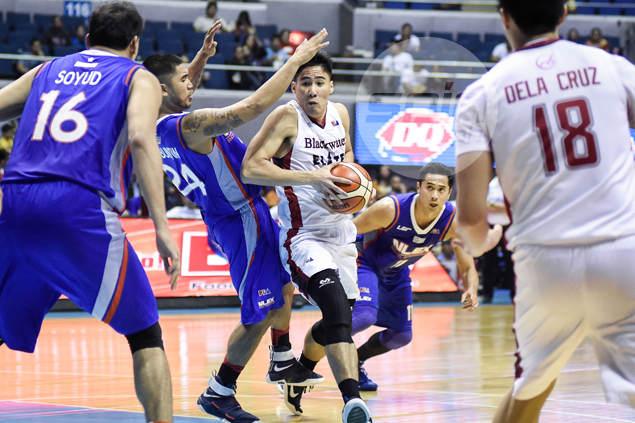 Marked man Mac Belo takes struggles vs college rival Glenn Khobuntin, NLEX defense in stride