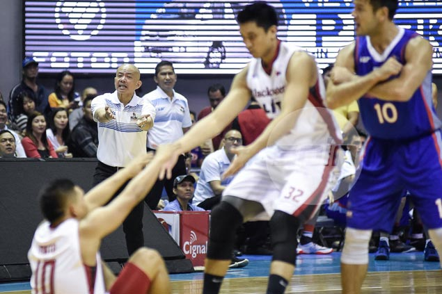 Yeng Guiao spares NLEX from tongue-lashing, but hopes he got message across