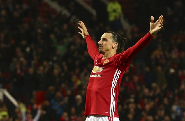 Late strike by Zlatan Ibrahimovic gives Manchester United victory at Crystal Palace