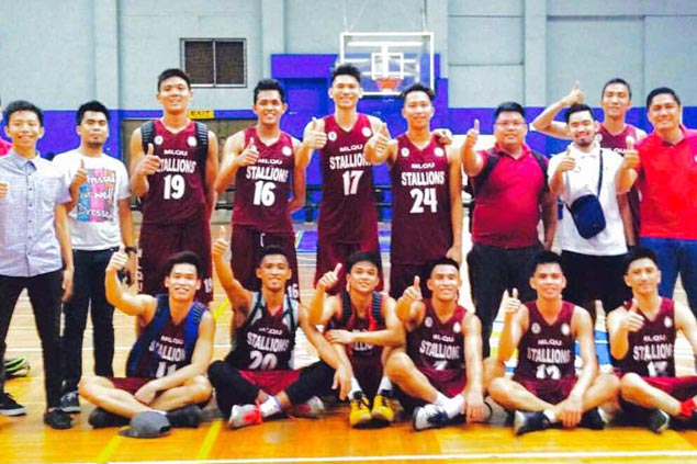 MLQU eyes PBA D-League stint after sweep over St. Dominic Savio College to claim UCSAA crown