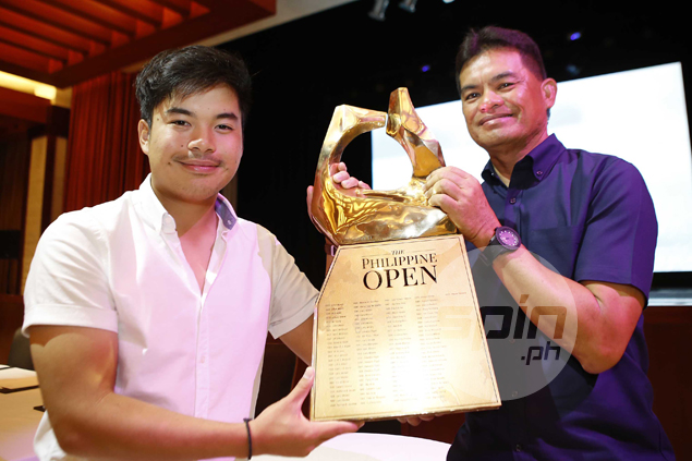 Miguel Tabuena eager for title defense as Philippine Open returns after one-year absence