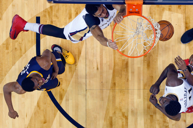 Anthony Davis, Buddy Hield lead charge as Pelicans pull away late over weary Pacers