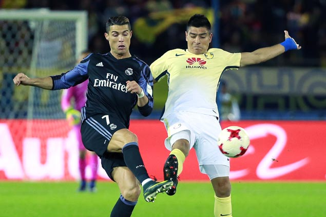 Cristiano Ronaldo jabs at video replay rule as Real Madrid blanks Club America in Club World Cup