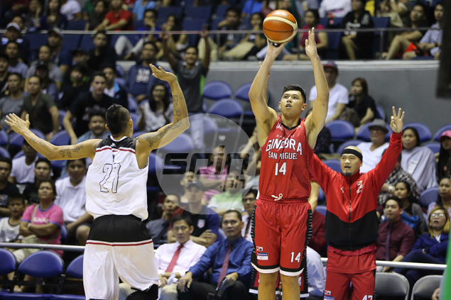 Kevin Ferrer makes most of extended minutes to play best game for Ginebra