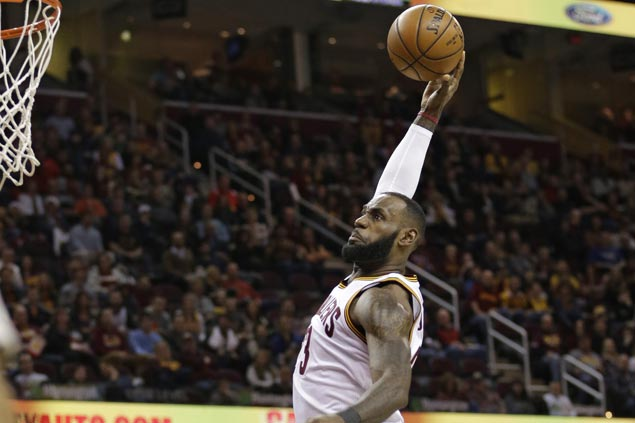 Big Three back in action and Cavaliers back on track with win over Lakers