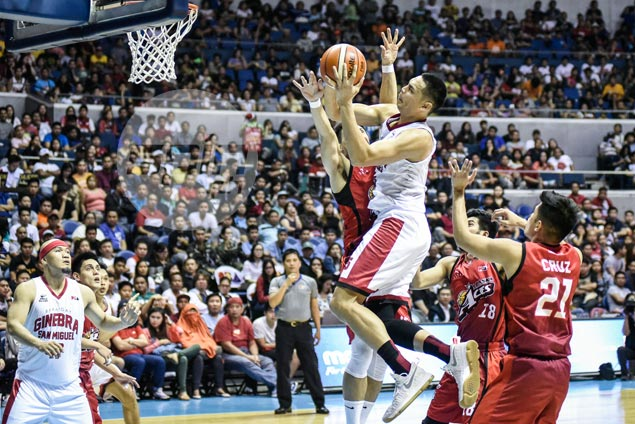 Japeth Aguilar takes benching in stride, says he won't dare question Cone decision