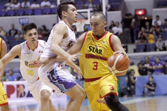 Paul Lee proves a thorn in side of former team as Star brings down Rain or Shine